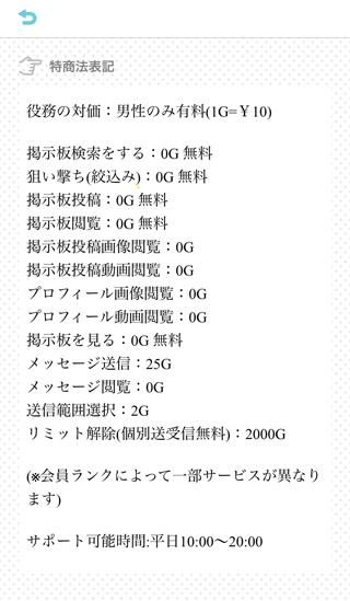 PICOの料金表