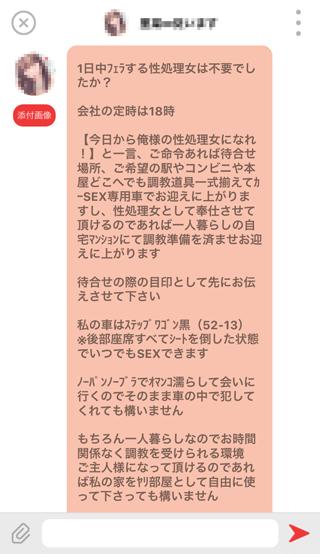 days登録2週間後の受信メッセージ詳細14