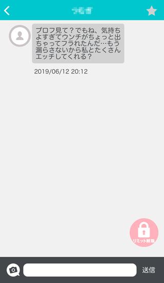 トークファン登録4日後の受信メッセージ詳細16