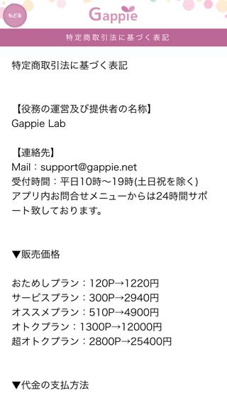 Gappie(ギャッピー)の運営者情報