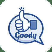グッディのApp Store版アプリアイコン