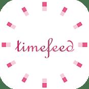 タイムフィードのアンドロイド版アプリ アイコン