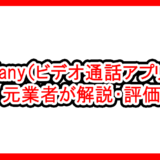 Fany(ビデオ通話アプリ)を元業者が解説・評価